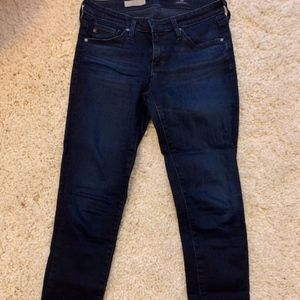 AG Size 25R Straight Leg Jeans